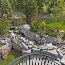 别墅景观设计新古典花园装修效果图