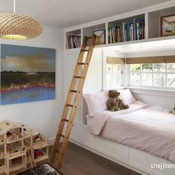 2017现代风格三室一厅创意经典儿童装修效果图片