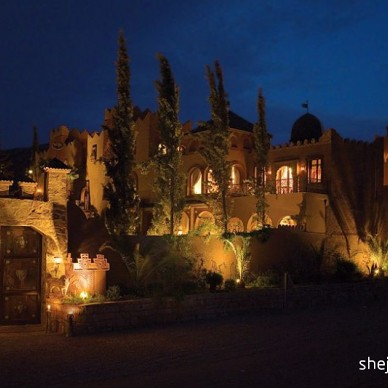 塔马多特古堡里的皇室奢华诱惑