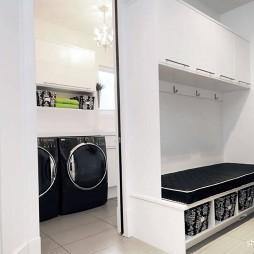 简洁现代家居设计收纳柜装修效果图