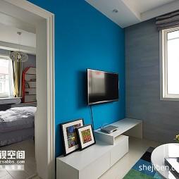 混搭风客厅卧室装修效果图