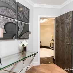 2017现代风格三室一厅宜家整体书房装修效果图