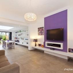 三层别墅美式风格客厅装修效果图大全