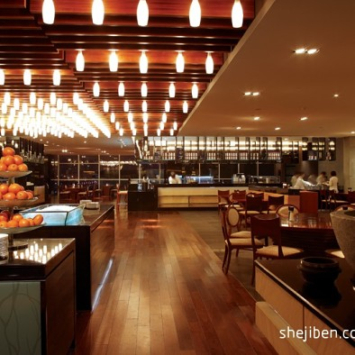 品香苑简约风格餐厅设计
