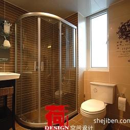 现代风格卫生间淋浴房装修图片