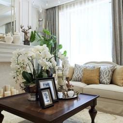 现代简欧客厅家装