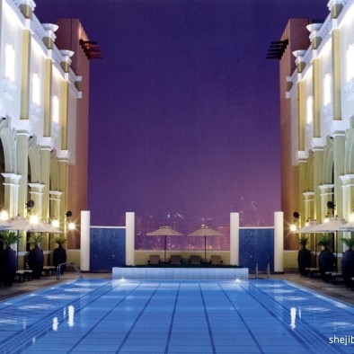 迪拜六国城门酒店设计