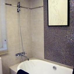 欧式卫生间浴缸效果图