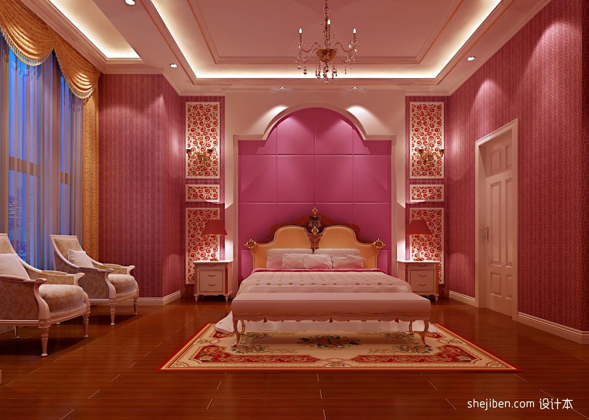 浪漫惊喜的房间布置_浪漫温馨的卧室布置效果图 – 设计本装修效果图