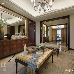 欧式风格家装客厅设计效果图