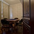 2017美式风格别墅室内休闲娱乐区装修效果图片