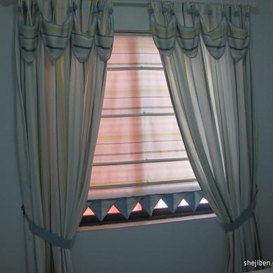 地中海风窗帘装修效果图