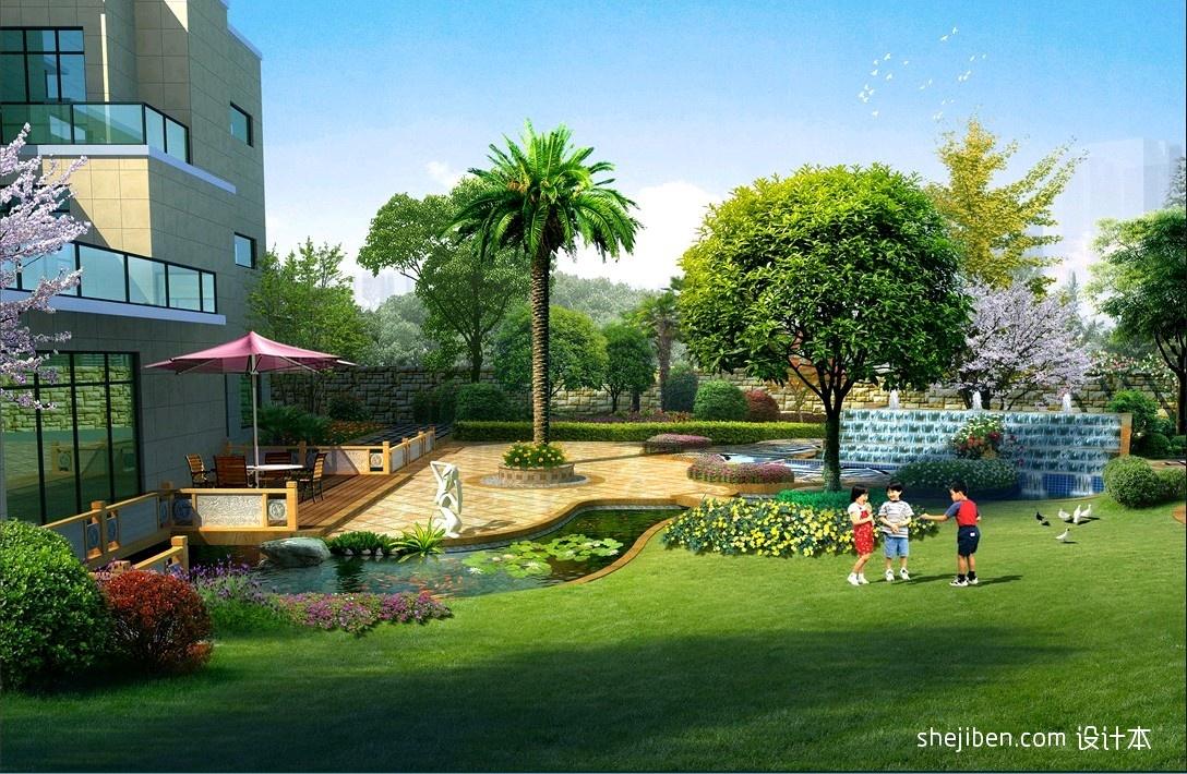保利公园198_园林式别墅装修效果图欣赏 – 设计本装修效果图