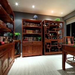 混搭风格四室一厅宜家书房家具装修效果图