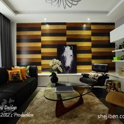 客厅背景墙壁纸图案效果图