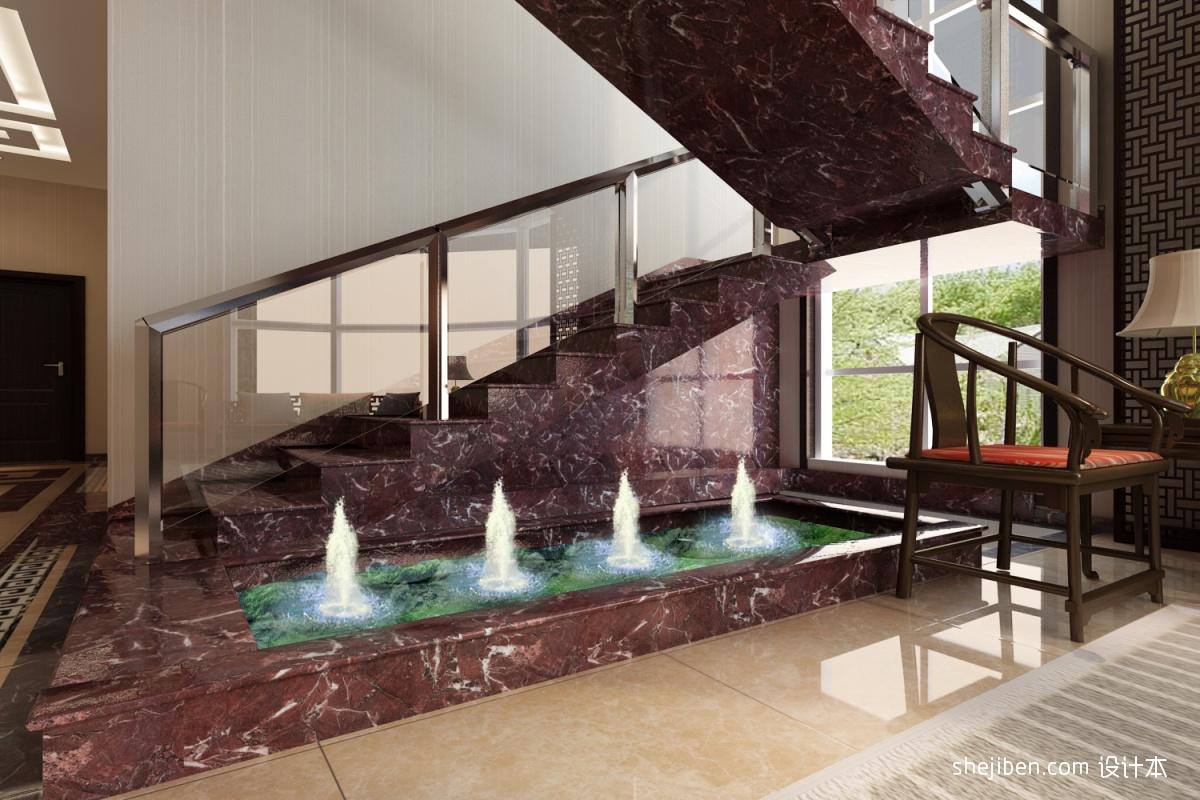 阳台小鱼池设计效果图_喷水 养鱼池 – 设计本装修效果图