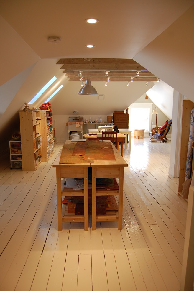 attic space ideas - 现代休闲区阁楼装修效果图大全2013图片 – 设计本装修效果图
