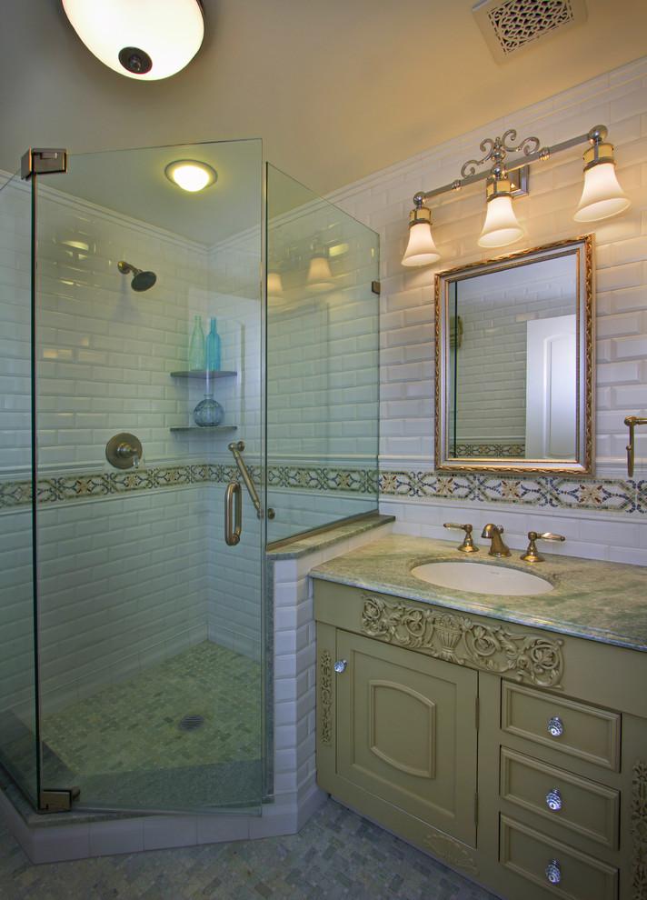 卫生间隔断效果图_欧式风格干湿两用卫生间镜前灯装修效果图 – 设计本装修效果图