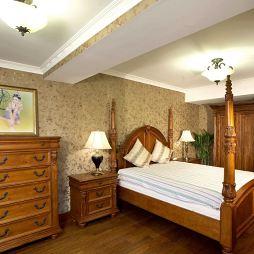 格兰云天卧室装修效果图大全2017图片欧式古典卧室壁纸装修效果图