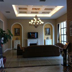 客厅瓷砖铺贴装修效果图