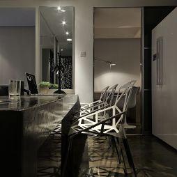 现代家用吧台效果图