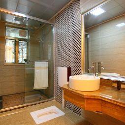 2017年清远天湖郦都样板房卫生间淋浴房效果图