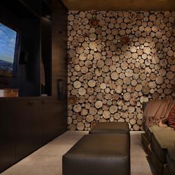 家庭小客厅音响设计