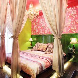 混搭卧室背景墙装修效果图