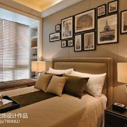 浪漫华贵欧式风情样板房卧室装修效果图