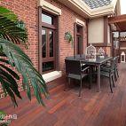 英式别墅阳台设计装修效果图