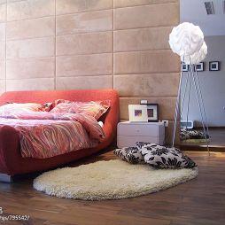别墅现代简约卧室装修效果图