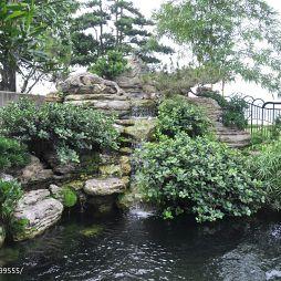 现代风格花园装修效果图