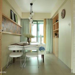 混搭风格家装餐厅瓷砖壁柜装修效果图