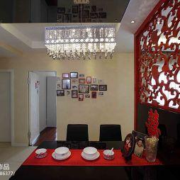 现代风格两室一厅餐厅吊顶装修效果图大全2017图片