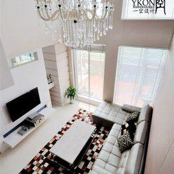 家装现代客厅吊顶图集