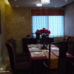 中式餐厅桌椅装修图片