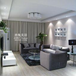 简约现代风格小客厅装修效果图