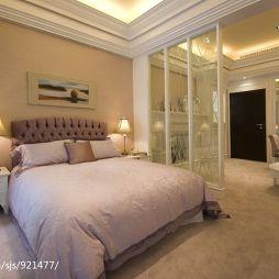 欧式小户型卧室休息厅卧室一体化装修效果图