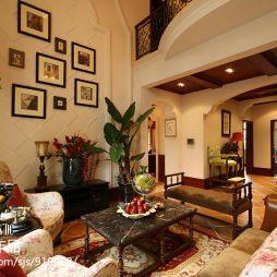 美式乡村风格家装客厅设计效果图