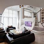 现代风格客厅背景墙效果图片
