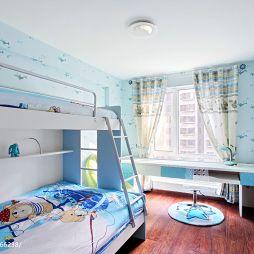 现代儿童卧室装修效果图