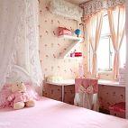 混搭粉色儿童房设计效果图