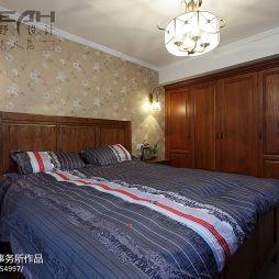 美式卧室衣柜装修图片