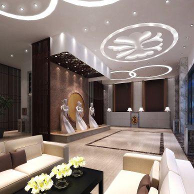 酒店项目设计效果图_918769
