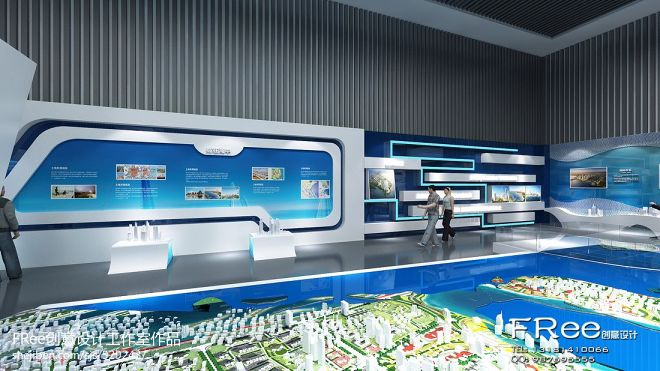 琴岛天籁商业展厅_935347