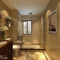 欧式卫生间淋浴装修效果图
