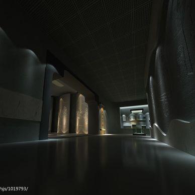博物馆文房四宝展厅设计_944010
