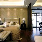 新古典风格卧室隔断设计