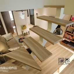 现代风格家庭楼梯踏步装修效果图大全