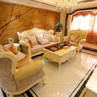 南京吉庆家园144平完工照《枫丹白露》_956052